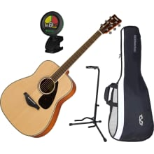 FG820 Spruce Folk Acoustic Guitar Bundle