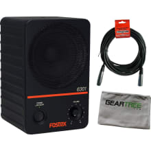 Fostex AMS-6301NE Powered Monitor Speaker w/ Geart