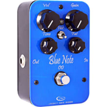 Blue Note Overdrive Guitar Effects Pedal