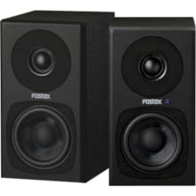 Pair of Fostex PM03HB 2-way Powered Studio Monitor