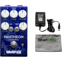 Wampler Pantheon Overdrive Effects Pedal Bundle w/