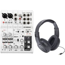 AG06 6-Input USB Audio Interface Mixer Bundle