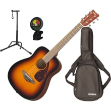 JR2 TBS 3/4 Scale Mini Folk Acoustic Bundle