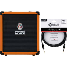 Crush Bass 50 Bass 50-Watt Combo Amplifier Bundle
