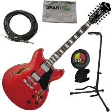AS7312 TCD AS Artcore 12-String Electric Bundle