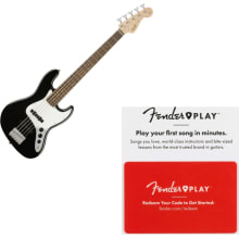 Fender Affinity Series Jazz Bass V, Laurel Finger