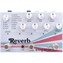 Reverb Guitar Effect Pedal