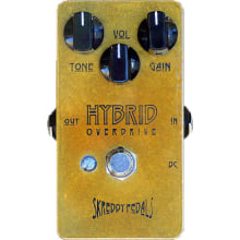 Hybrid Overdrive/Distortion Effect Pedal