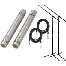 C-02 (2-Pack) Pencil Condensor Microphone Bundle