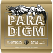 11-52 Paradigm Light 80/20 Bronze Acoustic Strings