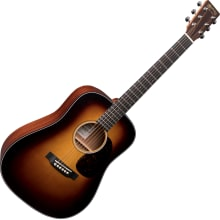 Martin D JR Sunburst Junior-Size Acoustic-Electric
