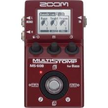 MS-60B MultiStomp Bass Guitar Effects Pedal