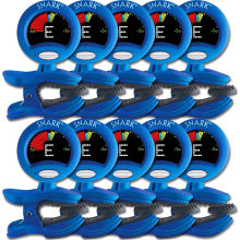 Clip-On SN-1 Chromatic Guitar Tuner 10-Pk