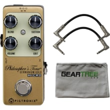 Pigtronix GGM Germanium Philosopher's Tone Gold Mi