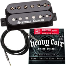 Black Winter Neck Pickup Bundle