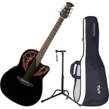 CE44-5 Celebtrity Elite Series A/E Guitar Bundle
