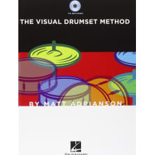 The Visual Drumset Method Instruction Book w/CD