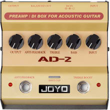AD-2 Preamp DI Box for Acoustic Guitar