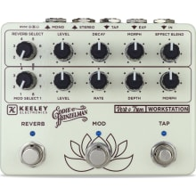 Keeley Verb O Trem Reverb Workstation and Tremolo