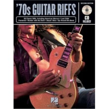 '70s Guitar Riffs 2nd Edition w/CD