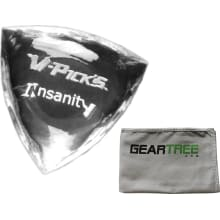 V-Picks Insanity Custom Clear Guitar Pick w/ Geart
