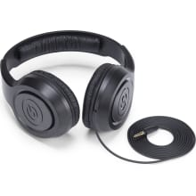 SR350 Over-Ear Black Stereo Headphones