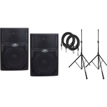 PVXp 12 DSP 830-watt Powered Speaker Bundle