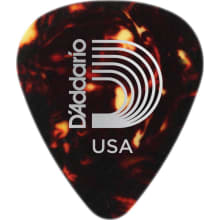1CSH2-25 Shell-Color 25-Pack Guitar Picks