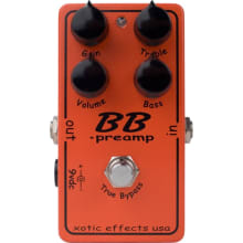 BB Preamp Overdrive Pedal