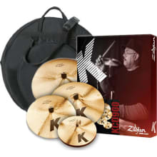 KCD900 K Custom Dark 5pc Cymbal Set Bundle