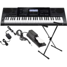 CTK7200 61-Key Portable Keyboard Bundle