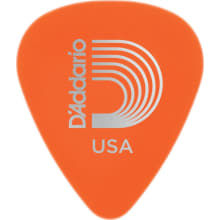1DOR2-10 Light Orange 10-Pack Guitar Picks