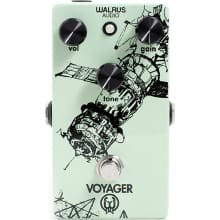Voyager Preamp / Overdrive Guitar Effects Pedal