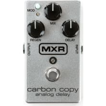 MXR M169A Carbon Copy 10th Anniversary Silver Spar