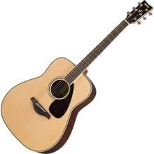FG830 Rosewood Back/Sides Folk Acoustic Guitar