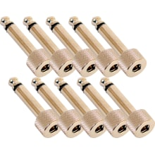 (10) Straight Nickel Solder-Free Plug Bundle