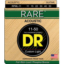 RPML-11 Rare Phosphor Acoustic Guitar Strings