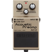 AD-2 Acoustic Guitar Preamplifier Pedal