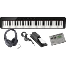 Casio PX-S1000BK 88 Weighted Key Digital Piano w/