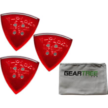 Set of 3 V-Picks Hot Tamale Guitar Picks w/ Geartr