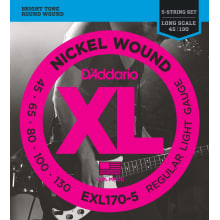 XL Long Scale 5-String Bass Strings (45-130)