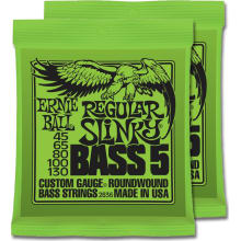 2836 Regular Slinky Bass 5-String 2-Pack