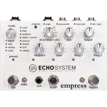 Echosystem Dual Engine Delay Effect Pedal