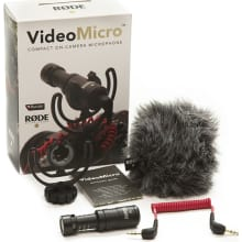 VideoMicro Micro Directional On-Camera Microphone