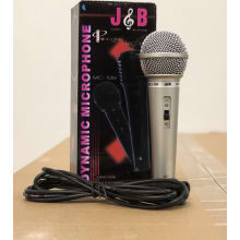 Plastic Microphone Hi-Z with Cable XLR-1/4