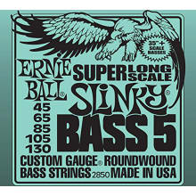 2850 5-String Slinky Super Long Scale Bass Strings