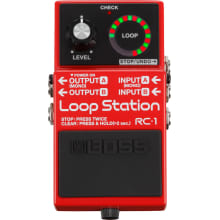 RC1 Loop Station Guitar Pedal