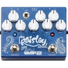 Paisley Drive Deluxe Stomp Box Effects Pedal