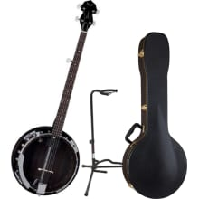Backwoods 2 BW2E Electric Banjo Bundle