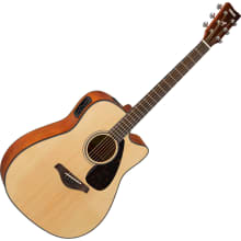 FGX800C Folk Cutaway Acoustic/Electric Guitar